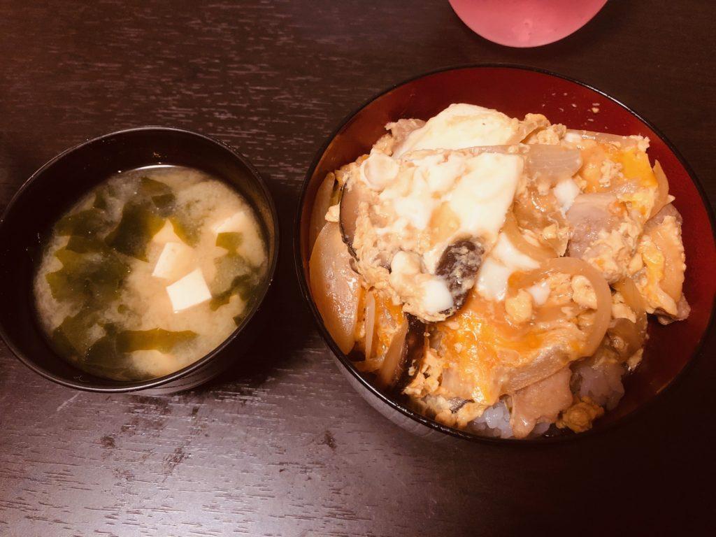 1.5番出汁を使った親子丼