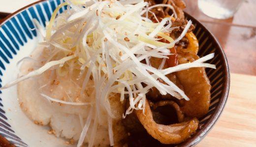 kawara CAFE&DINING 渋谷文化村通りの「出汁とろろの牛カルビ丼」@渋谷