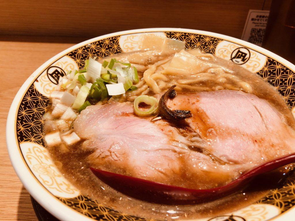 ラーメン凪の「すごい煮干ラーメン」