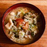鶏肉と野菜のコンソメ雑炊