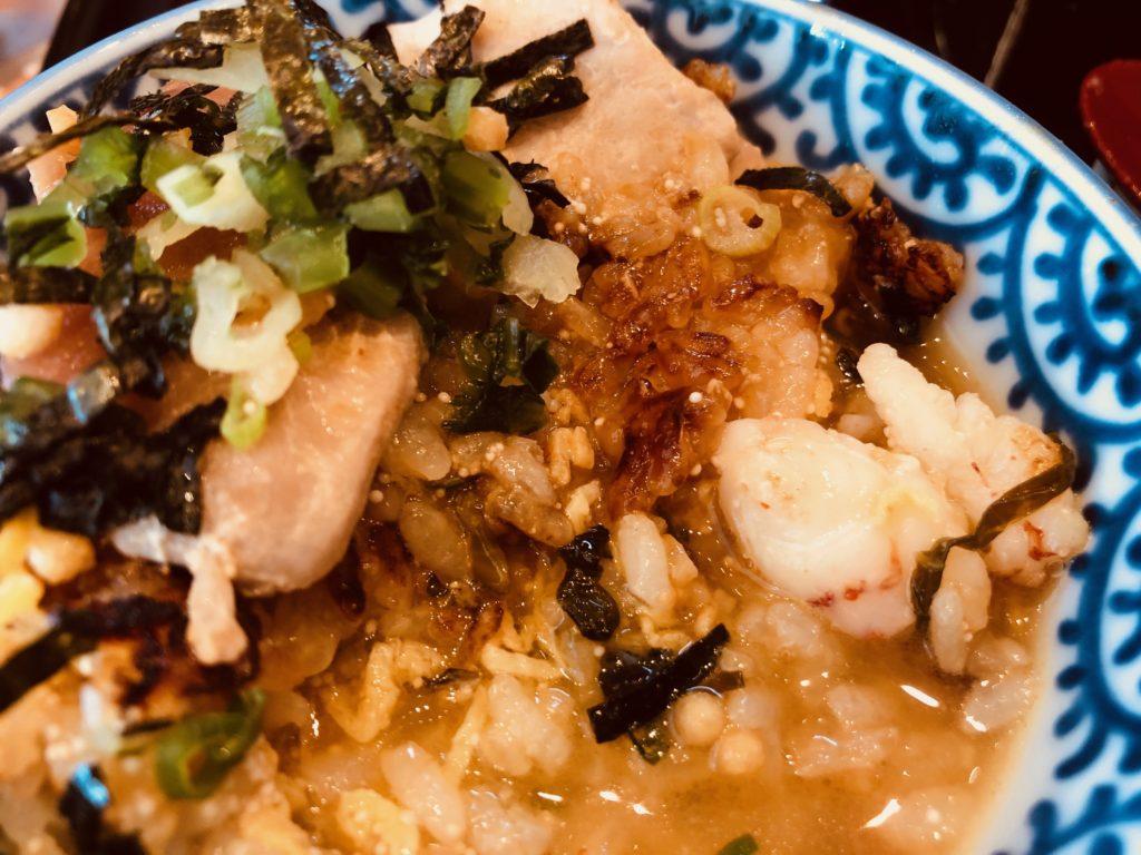 おひつごはん四六時中の「まぐろの海鮮炙り飯」