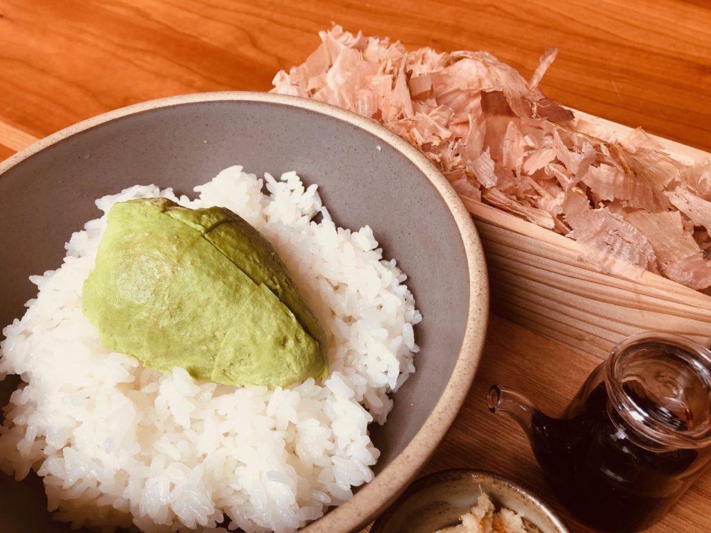 DASHI SHOPの「かつお節ごはん定食」